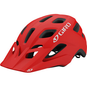 Giro Fixture Casco, matte trim red
